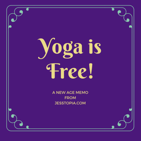 Yoga is Free